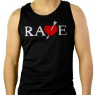 RAVE, Vincent Brooks Men Black Tank Top Sleeveless