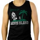 Revis Island Darrelle Revis New York Jets Cornerback Men Black Tank Top Sleeveless