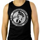 SASQUATCH RESEARCH TEAM Men Black Tank Top Sleeveless