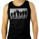 SUPPORT OUR TROOPS Men Black Tank Top Sleeveless