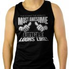 This Is What The World's Most Awesome Uncle Looks Like Men Black Tank Top Sleeveless