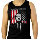 Underwood 2016 House of Campaign Men Black Tank Top Sleeveless
