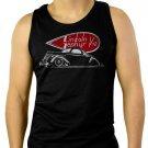 1937 Lincoln Zephyr Men Black Tank Top Sleeveless