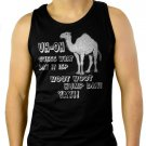 Hump Day Woot! Woot! Men Black Tank Top Sleeveless