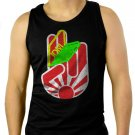 JAPAN JDM Sports AUTO Racing Men Black Tank Top Sleeveless