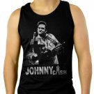 Johnny Cash Men Tank Top Black