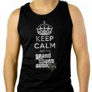 Keep Calm And Play Men Tank Top Grand Theft Auto 5