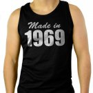 Made In 1969 Men Tank Top Birthday Gift Sleeveless