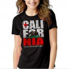New Hot California Republic state Bear Flag Women Adult T-Shirt