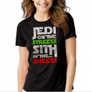 New Hot Jedi In The Streets Sith In The Sheets Movie Funny Women Adult T-Shirt