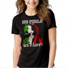 New Hot No Pirlo No Party Andrea Juventus Italy Women Adult T-Shirt