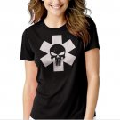 New Hot PUNISH STAR LIFE MEDIC PARAMEDIC EMT EMS NURSE  Women Adult T-Shirt