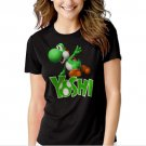 New Hot Boys Nintendo Big Green Yoshi T-Shirt For Women