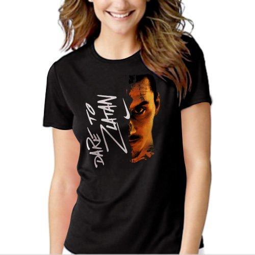 New Hot Dare to Zlatan Inspired T-Shirt For Women