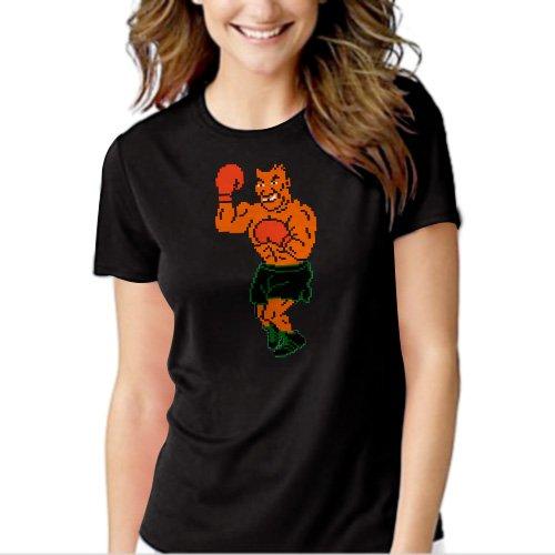 New Hot Mike Tysons Punchout Tyson 8 Bit Boxing T-Shirt For Women
