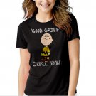 New Hot Peanuts Charlie Brown T-Shirt For Women