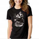 Chica FNAF Five Nights at Freddy's Horror Black T-shirt For Women