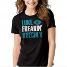 Luke Kuechly Carolina Panthers Funny number 59 Black T-shirt For Women