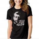 Stephen King Rules Black T-shirt For Women