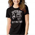Utah Get Me Two Black T-shirt For Women