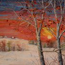 """Early October Snow"" ~ Limited Edition Giclee Print"