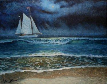Moonlight Sailing - OCF201