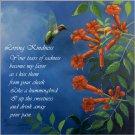 Morning Sprinkle w/Poem - Item PP131