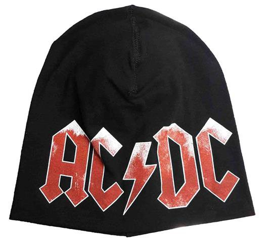 AC/DC Beanie Hat Heavy Metal Rock Band Snow Winter Ski Bikers Cap