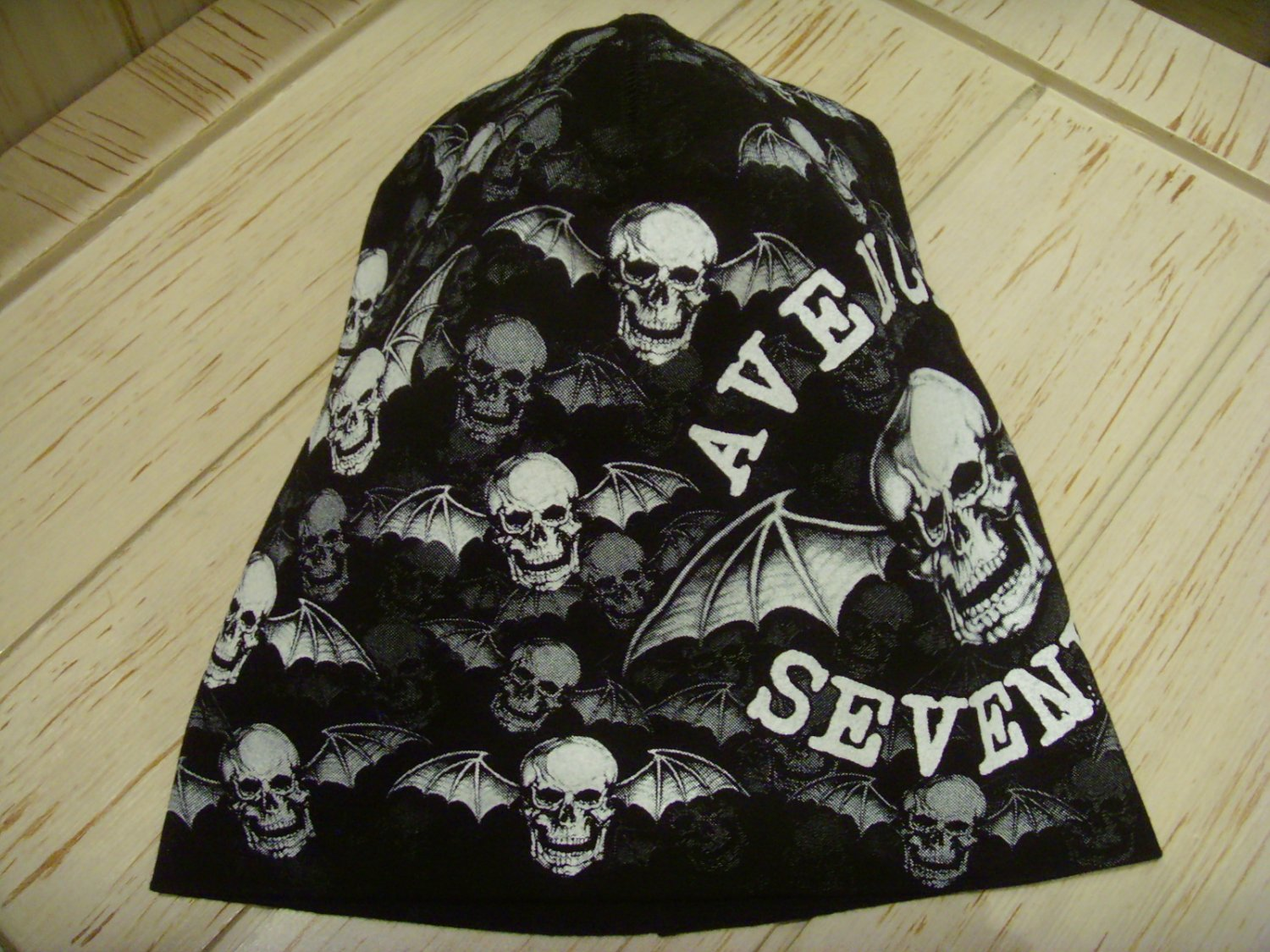 A7X AVENGED SEVENFOLD Beanie Hat Heavy Metal Rock Band Snow Winter Ski Motorcycles Cap