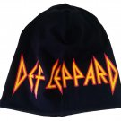 DEF LEPPARD Beanie Hat Heavy Metal Rock Band Snow Winter Ski Bikers Cap