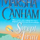 SWEPT AWAY by Marsha Canham - PB/1999 Historical Romance