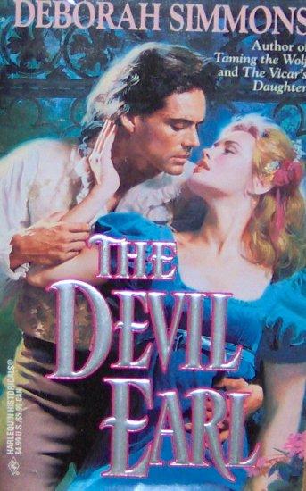THE DEVIL EARL - By Deborah Simmons - PB/1996 - Gothic Historical Romance