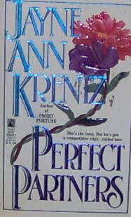 PERFECT PARTNERS - By Jayne Ann Krentz - PB/1992 - Romantic Adventure