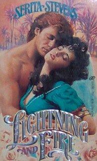 LIGHTNING AND FIRE - By Serita Stevens - PB/1987 - Historical Romance