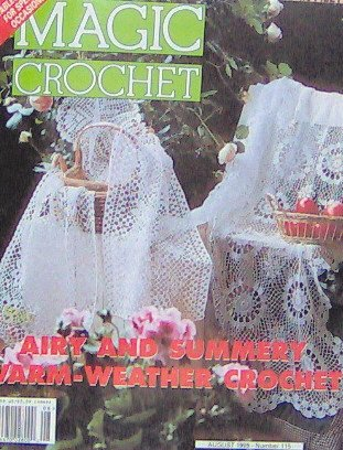 Magic Crochet - AIRY AND SUMMERY WARM-WEATHER Crochet - August 1998 - 115