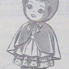 Vintage - RED-RIDING HOOD SOCK DOLL - Pattern
