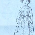 PRAIRIE GIRL DOLL Wearing A Mop-Cap Vintage Pattern