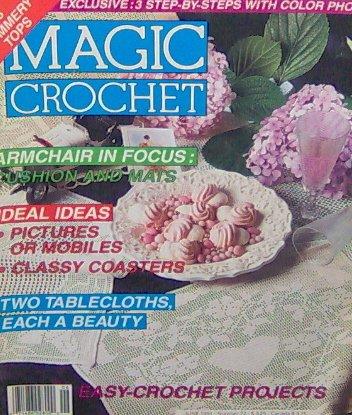Magic Crochet - EASY CROCHET PROJECTS - June 1991 - 72