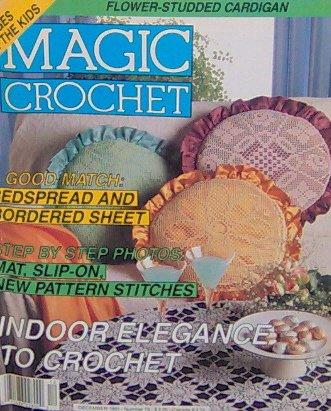 Magic Crochet - INDOOR ELEGANCE TO CROCHET - December 1991 - 75