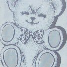TEDDY BEAR Pillow or Toy Vintage Pattern