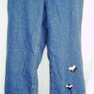Bleu Jeans Tweed Applique Jeans Size 12