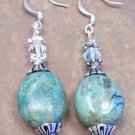 Turquoise Bead Earrings, JE3