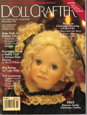 """Doll Crafter"" Magazine, Nov. 1998 #190"
