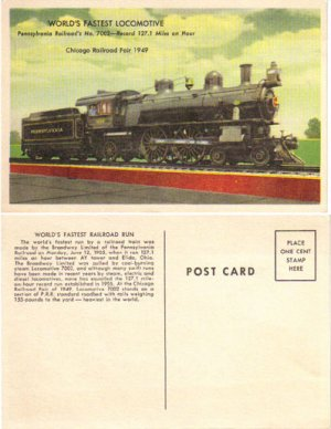 Chicago Railroad Fair 1949, Penn. Railroad, RR4