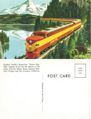 """Southern Pacific's """"Shasta Daylight"""" Train, RR6"""