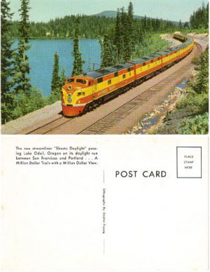 "Southern Pacific's ""Shasta Daylight"" Train, RR7"