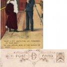 Humorous Postcard Sailor and Lady #PC32