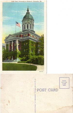 LNPC--Jesse Hall, University of Missouri, COLUMBIA, MO, #PC51