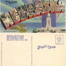 "LN PC—""Greetings from Nebraska"" post card, #PC62"