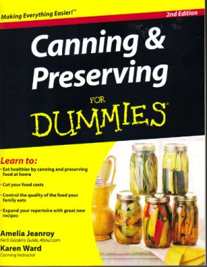 Canning & Preserving for Dummies, 2nd Edition